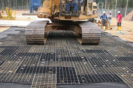 Structural mat system products